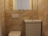 szafka nad zabudowę WC z lustrem